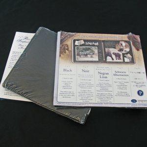 NIP Creative Memories 7x7 Black Scrapbook Pages